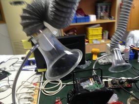 承接深圳焊锡烟处理排放通风管道项目安装
