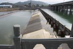 浙江宁海洋溪1.5×6×22扇倾斜式