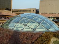 钢结构玻璃阳光棚