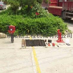 供应土质环保测试取土钻机 冲击式土壤采集器 轻便土质勘探钻机