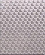 心形压纹不锈钢压花板、拉丝8K不锈钢压花板