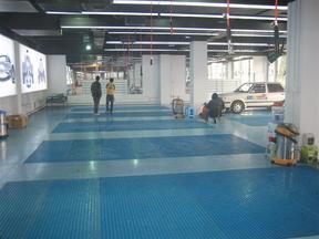 汽车美容店专用38mm厚度玻璃钢格栅