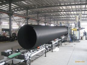 求购生产PE钢带增强排水排污管材厂家