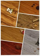 防水耐磨环保防滑木纹PVC锁扣地板