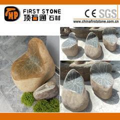 GCF1003莲花自然石椅子