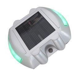 汉晟新能市政道路斑马线园林水池警示用太阳能道钉灯生产厂家量大优惠
