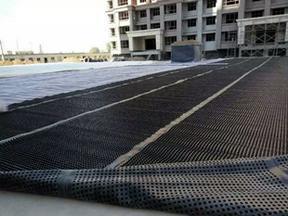 ��祉�板�G化1.0mm塑料排水板