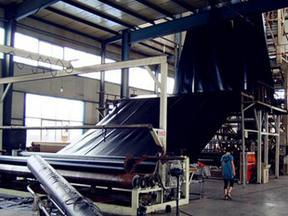 车库顶板绿化1.0mm塑料排水板