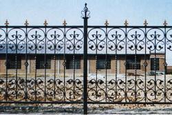 铁艺围栏、铁艺栏杆、铁艺护栏、铁艺
