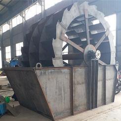 广东大型轮式洗沙机,佛山矿用砂石清洗分离设备