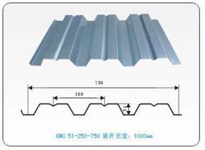 楼承板yx65-200-750开口楼承板