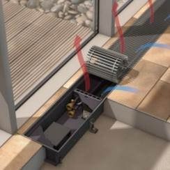 地板对流器、天津高大空间采暖、天津玻璃幕墙采暖、高档空间采暖