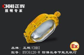 BYE6120-W防爆应急无极灯、防爆无极灯、温州防爆无极灯、防爆无极灯厂家、