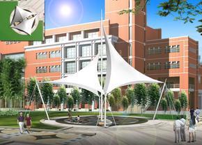 膜结构车棚/膜结构遮阳篷/停车棚/车棚/收费站遮阳篷