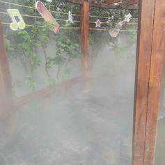 山西太原市雾森系统人造雾降尘喷雾造景宛如仙境的人造雾