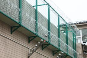 监狱钢网墙看守所钢网墙军事重地钢网墙