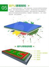 中网硅PU球场材料(ZW11)
