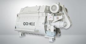 双卧轴强制式搅拌机CTS1000 双螺带 科尼乐 性能卓越经久耐磨