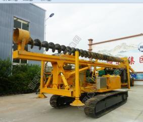 8米履带螺旋打桩机功能详情介绍