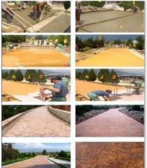 安庆透水混凝土、彩色艺术地坪价格