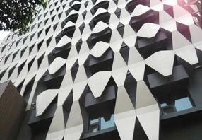 辽源铝单板幕墙吊顶雨棚粉末喷涂定做