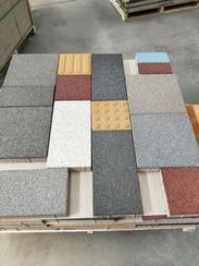 园林设计用200*100*55仿古陶瓷透水砖生态透水砖1