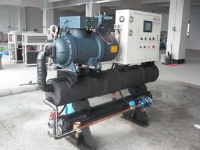 水冷式螺杆冷水机、低温螺杆冷冻机、制冷机冰水机冷冻机冷却机冻水机水冷机、螺杆式冷水机深圳生产厂