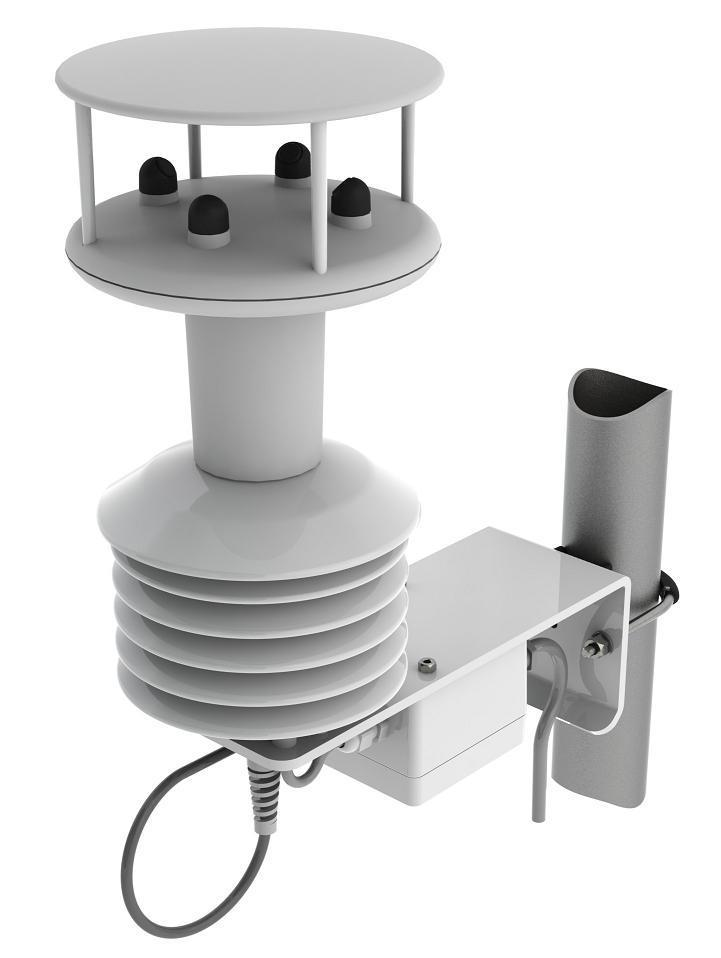 MetPakII便携式气象站