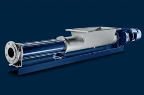 BT/BTE型带料斗的单螺杆泵