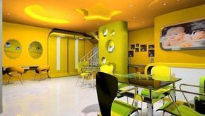 石家庄咖啡厅西餐厅茶楼装修设计