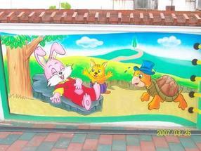 北京怀柔密云顺义平谷通州大兴昌平幼儿园卡通喷绘