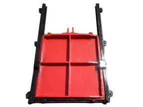 管道排污手动铸铁闸门 小型平板铸闸门供应商―华英水利