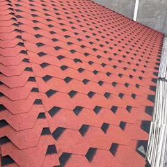 北京沥青瓦厂家油毡瓦玻纤瓦彩色屋面防水自粘瓦