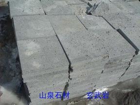 供應遼寧產玄武岩(黑洞石)工程板/亂形板