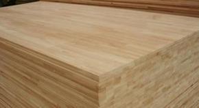 生产供应橡胶木指接板
