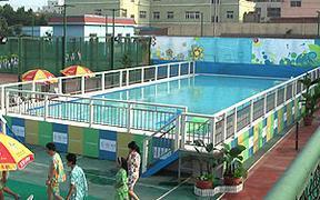 拼装移动泳池,拆装游泳池,钢架游泳池