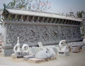 河北永权雕塑浮雕影壁墙款式类型