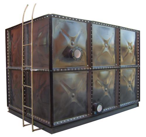 组合式搪瓷钢板水箱北京麒麟公司
