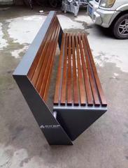 西安公园椅厂家供应木塑户外园林休闲座椅,种类齐全品质有保障