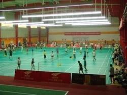 羽毛球场地.上海羽毛球塑胶地板