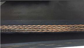 福建尼龙皮带帆布输送带