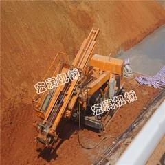 现货履带式锚固钻机  护坡钻机最高能升多高