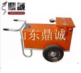 你古呼和浩特手推式水泥混凝土真空吸水机 配套高效吸水垫 真空吸水泵