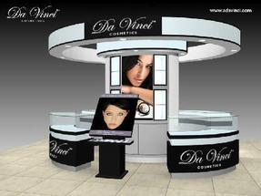 化妆品展柜设计