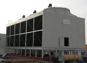 河南菱宇900吨3组合方形横流式冷却塔