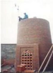 45米砖烟囱新建