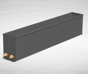 CPTLD-2C型、2D地板型铜管铝片对流散热器