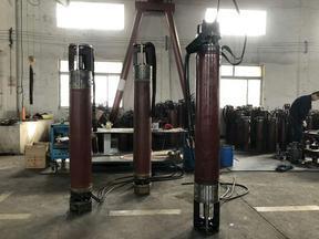 大流量热水深井泵型号-250QJR潜水泵厂家