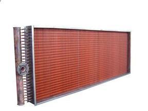 铜翅片散热器