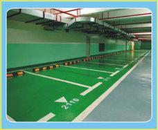 天津停车位划线、停车场划线、导向箭头划线